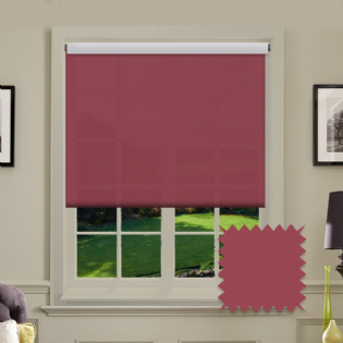 Red Roller Blind - Astral Chilli